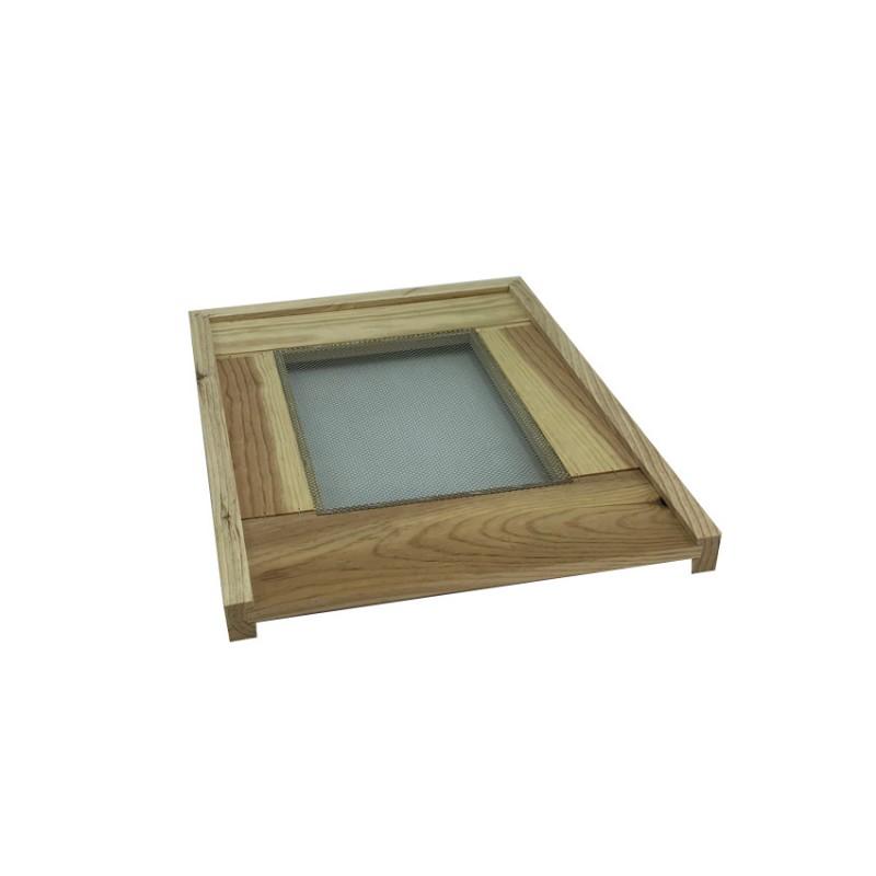 Plancher bois Dadant 10 cadres aération centrale